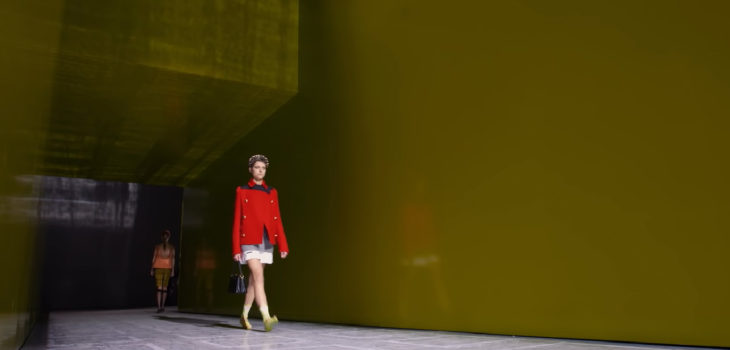 Prada Spring-Summer 2019 Womenswear Show