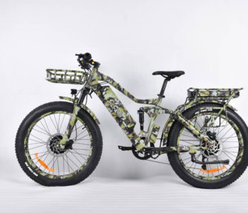 E-Cells presenta la nuova fat bike Super Monarch ™ Crown AWD 1500