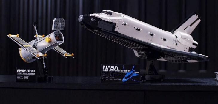 LEGO ha creato in collab con NASA un kit dello Space Shuttle Discovery da 2.354 pezzi