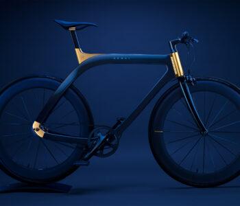 Akhal Sheen, una bici in fibra di carbonio e placcatura in oro 24K, firmata Extans